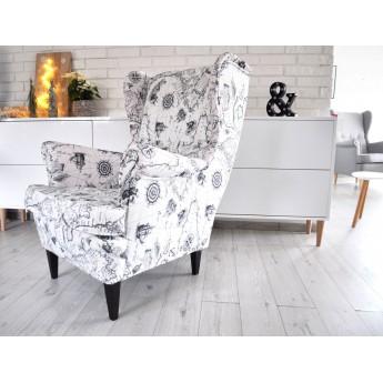 Fotel Mapa Świeta