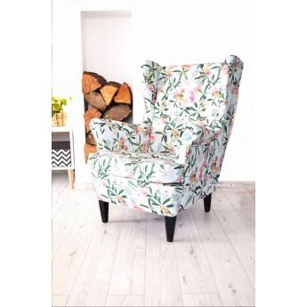 Fotel w kwiaty SPRING