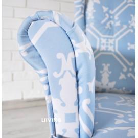Modny Fotel BLUE SKY- styl - NEW YORK LOFT-