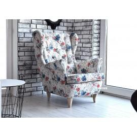 Fotel uszak w kwiaty nederland