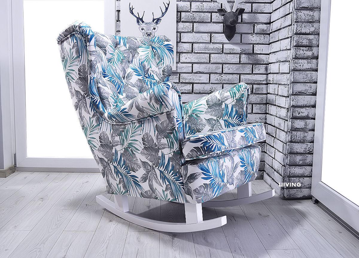 fotel uszak w paprocie