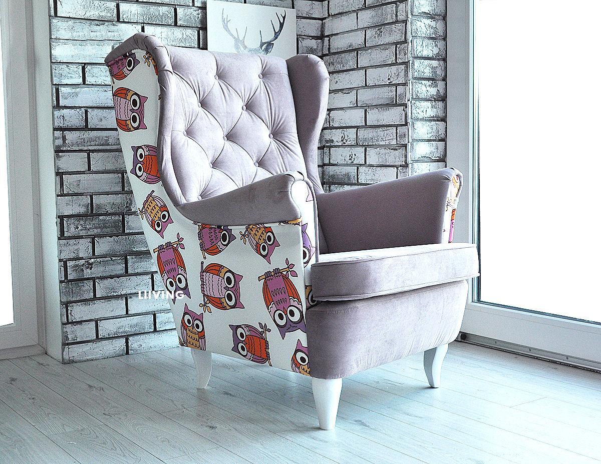 fotel w sowy
